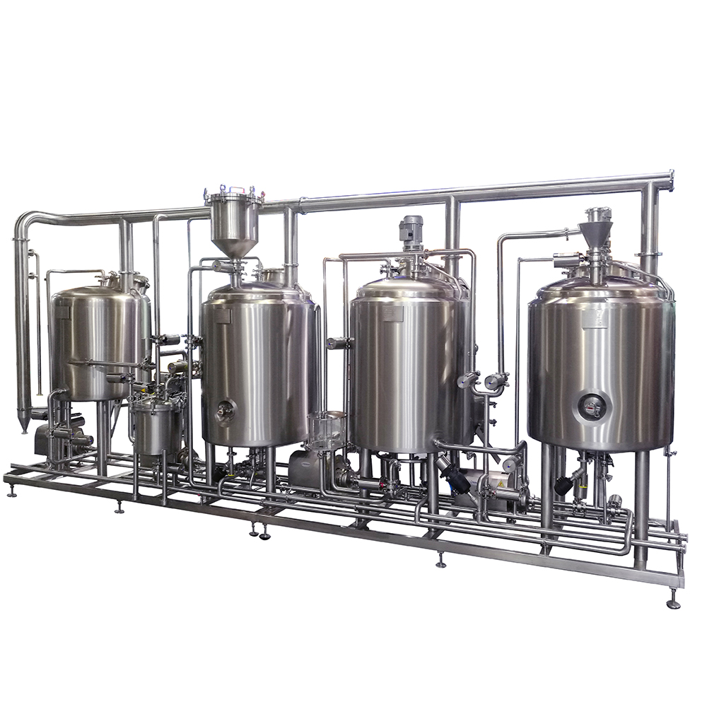 10HL 1000L Beer making brewhouse pub brewery brewhouse system sell well ZXF