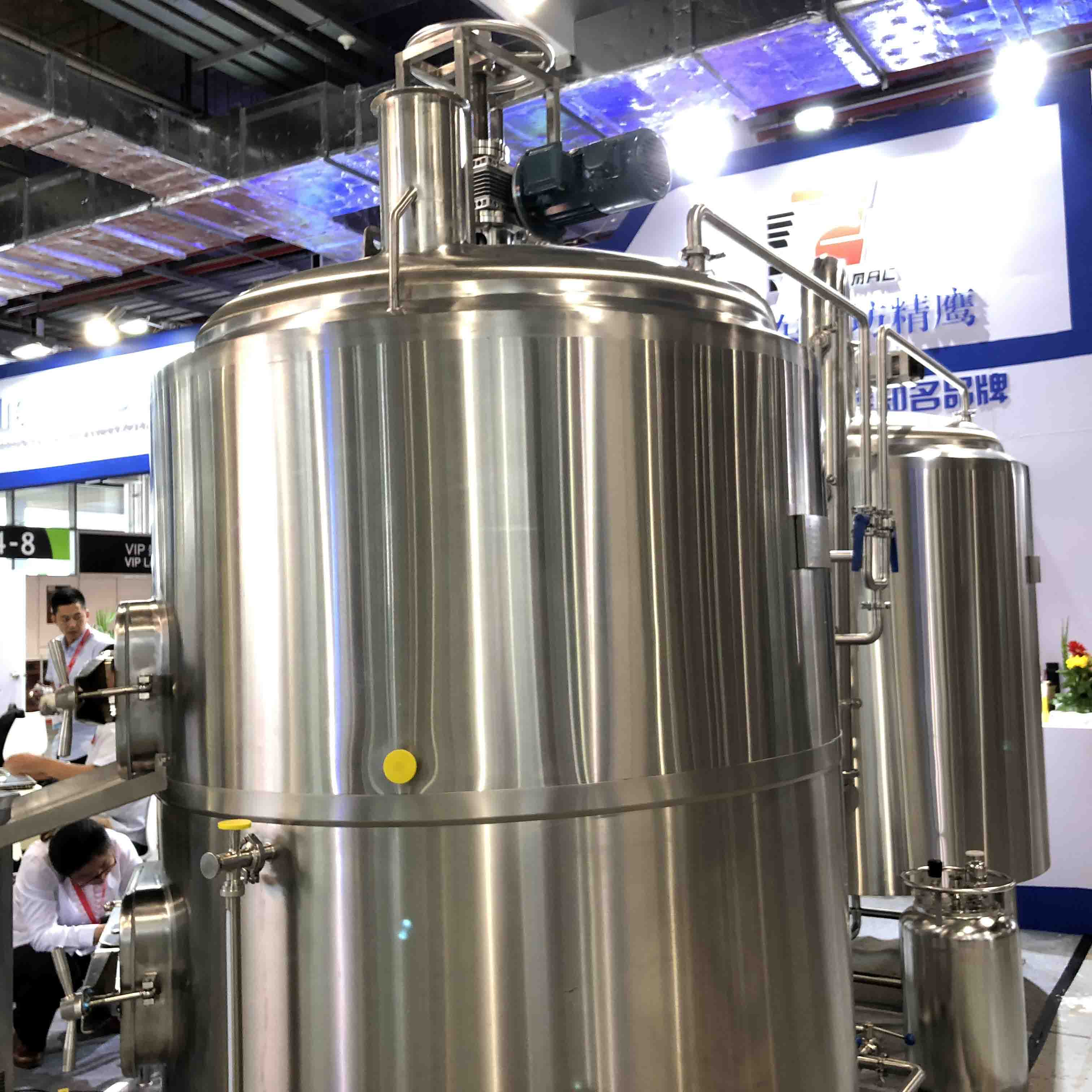 Professional brewing equipment for sale turnkey brewery equipment WEMAC Y038