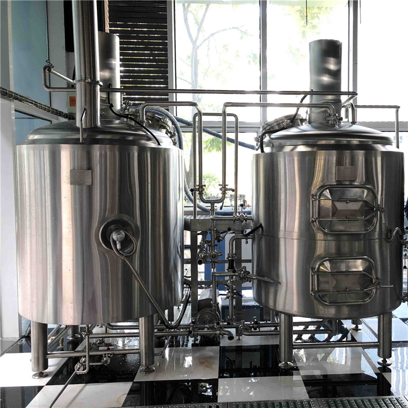 London top quality automatic manual professional commercial beer brewing equipment of SUS304 316 from China  manufactures W1
