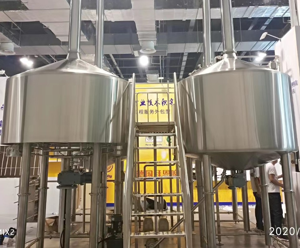Serbia top quality automatic manual  industrial beer brewing equipment of SUS304  from China factory supplier W1