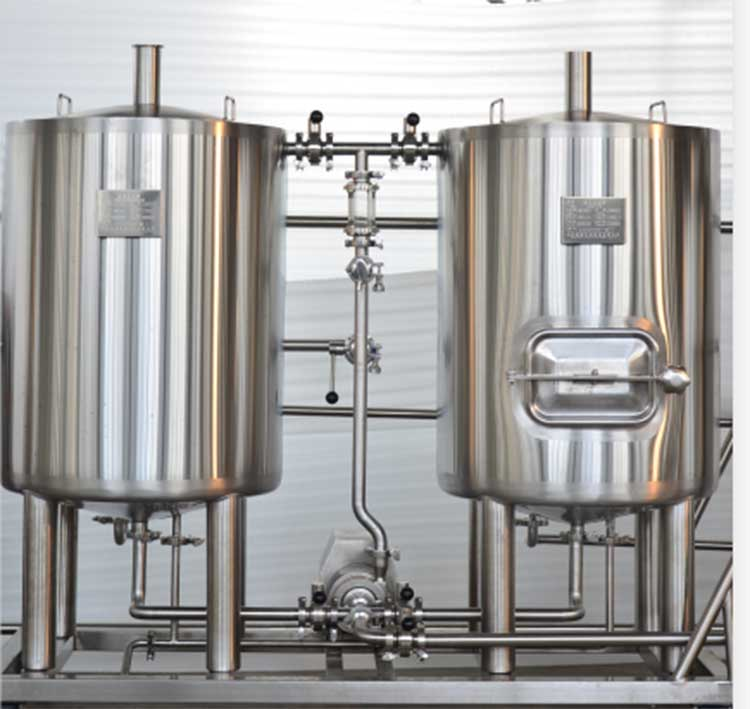 100L WEAMC high quality Customized home brewing microbrewery/pilot beer equipment system