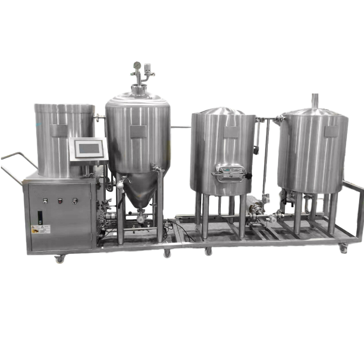 WEMAC 100L Pilot craft beer brewing system home brewery equipment sell well in Japan