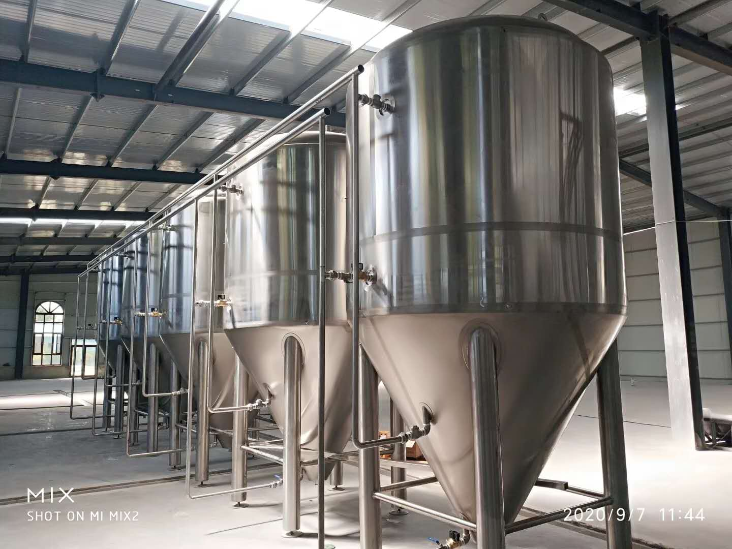2500L 3000L 30HL 25HL commercial beer brewing brewhouse system equipment supplier ZXF