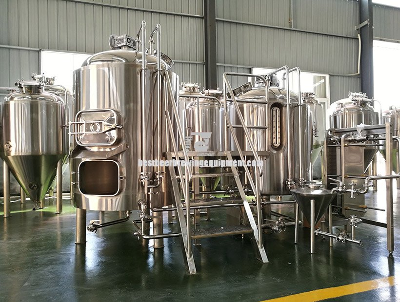 WEMAC high quality 3000L (30HL) Microbrewery beer brewing equipment
