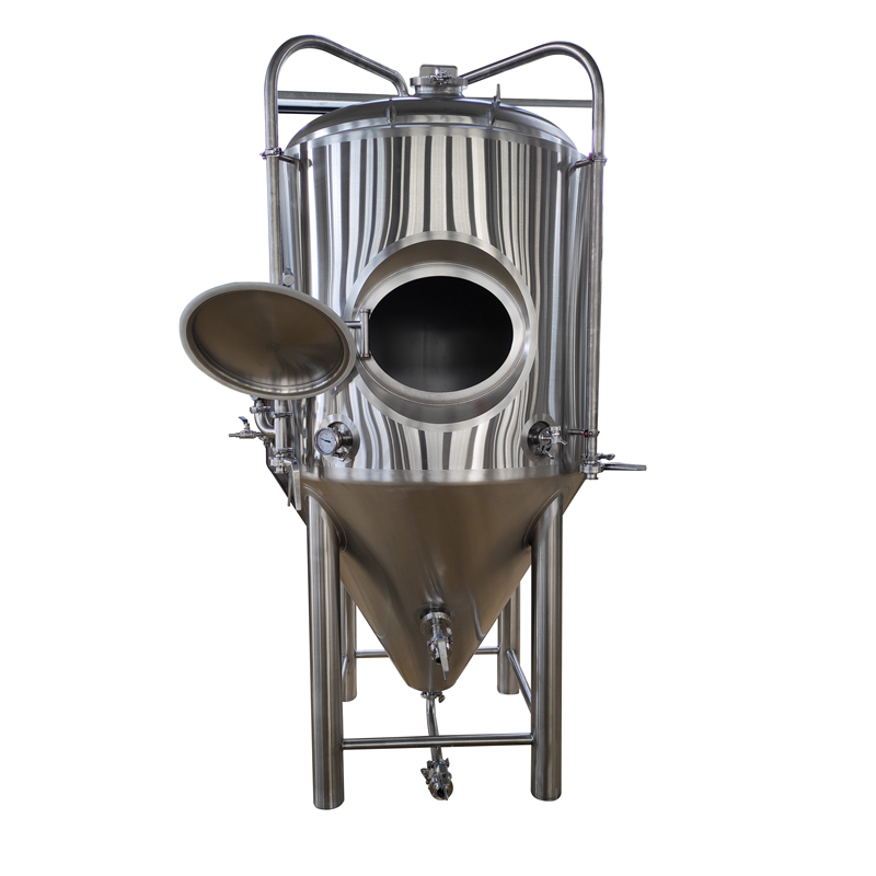 WEMAC  Fermenting System For Craft 300L 500L 1000L Beer Fermentation Tank Beer Brewing Kettle for sale ZXF