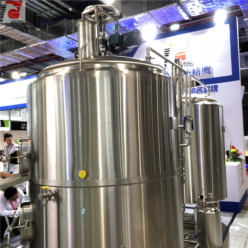 5 bbl brewhouse complete brewing system for sale WEMAC H026