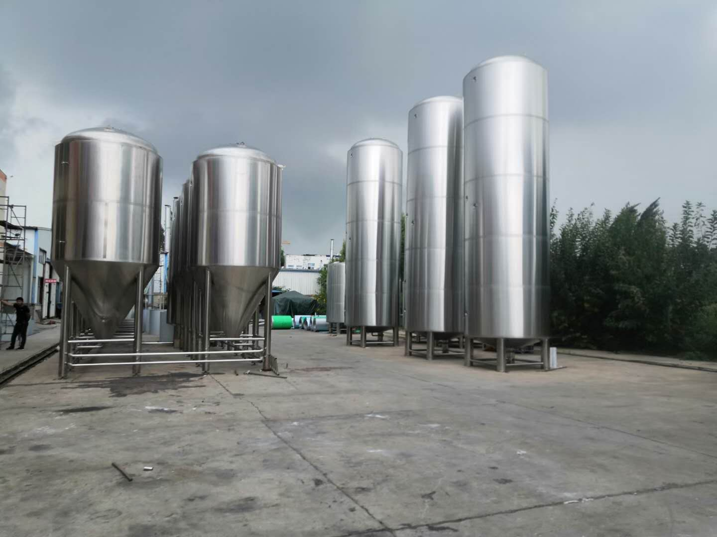 fermentation system beer brewing tanks made of stainless steel ZZ