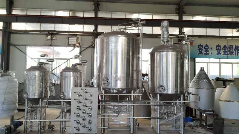 Chinese factory produce high quality 500L 3 vessels Beer brewing mash system widely used in brewhouse ZZ