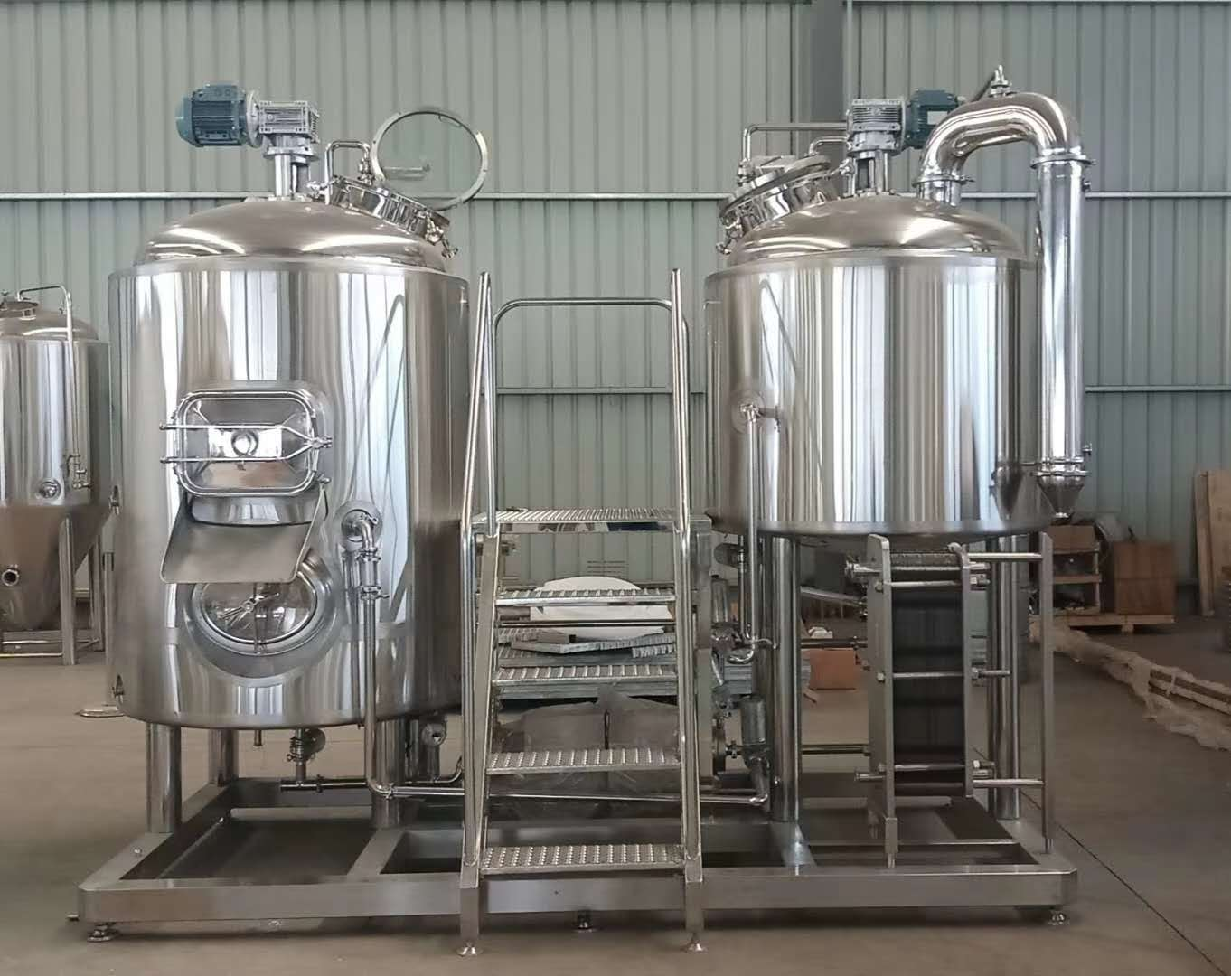 craft beer brewery system brewing equipment hot sell in mini beer bar ZZ