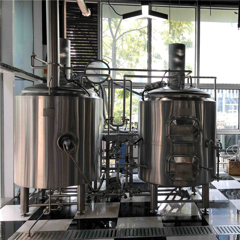 500L 2 vessel  micro brewing systems for sale WEMAC G006