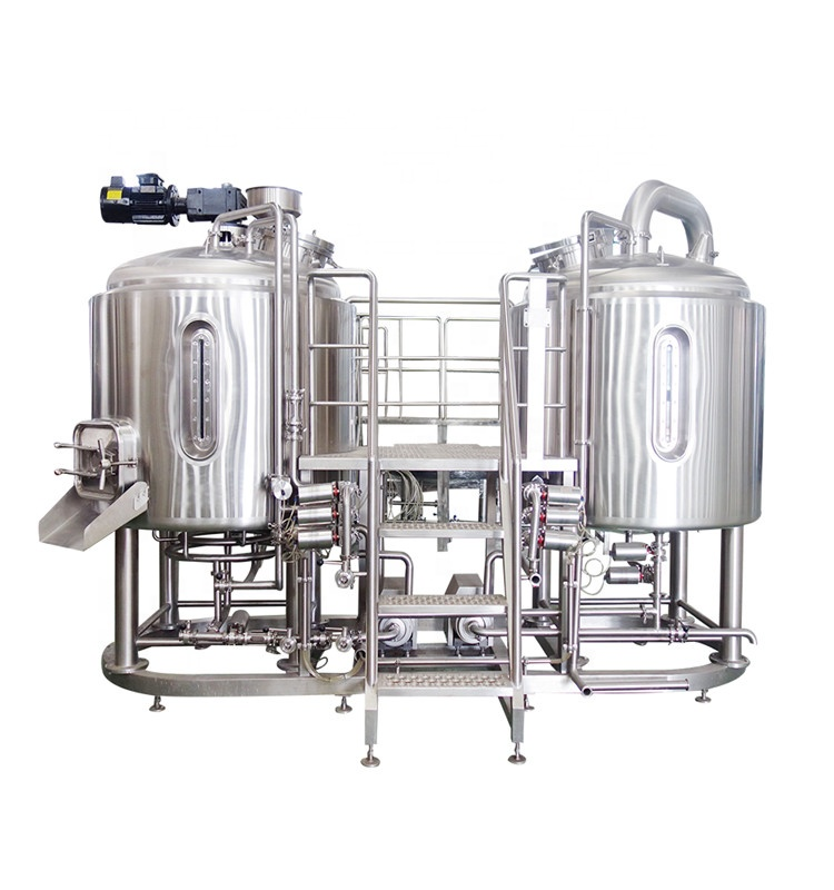 200L/500L/1000L turnkey stainless steel beer brewing equipment ZXY