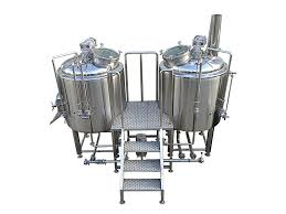 China commercial 500L 3BBL 5BBL beer brewery brewhouse supplier manufacturer  ZXF