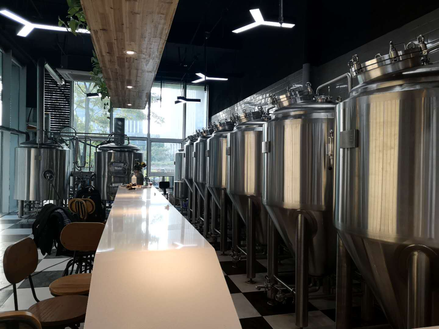 WEMAC 500L beer brewing system factory using in pub & restaurant