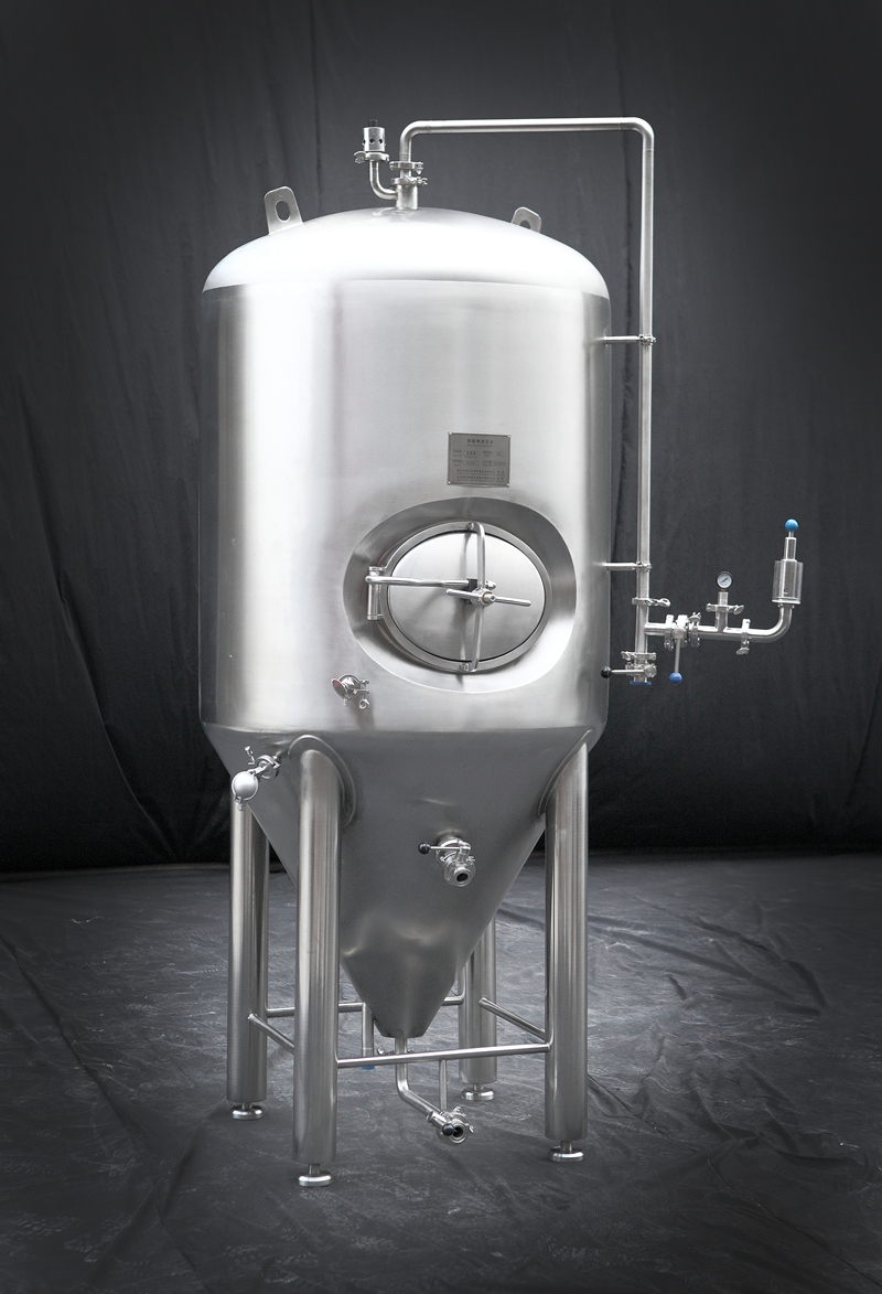 3BBL 500L jacketed stainless steel fermenter in di...