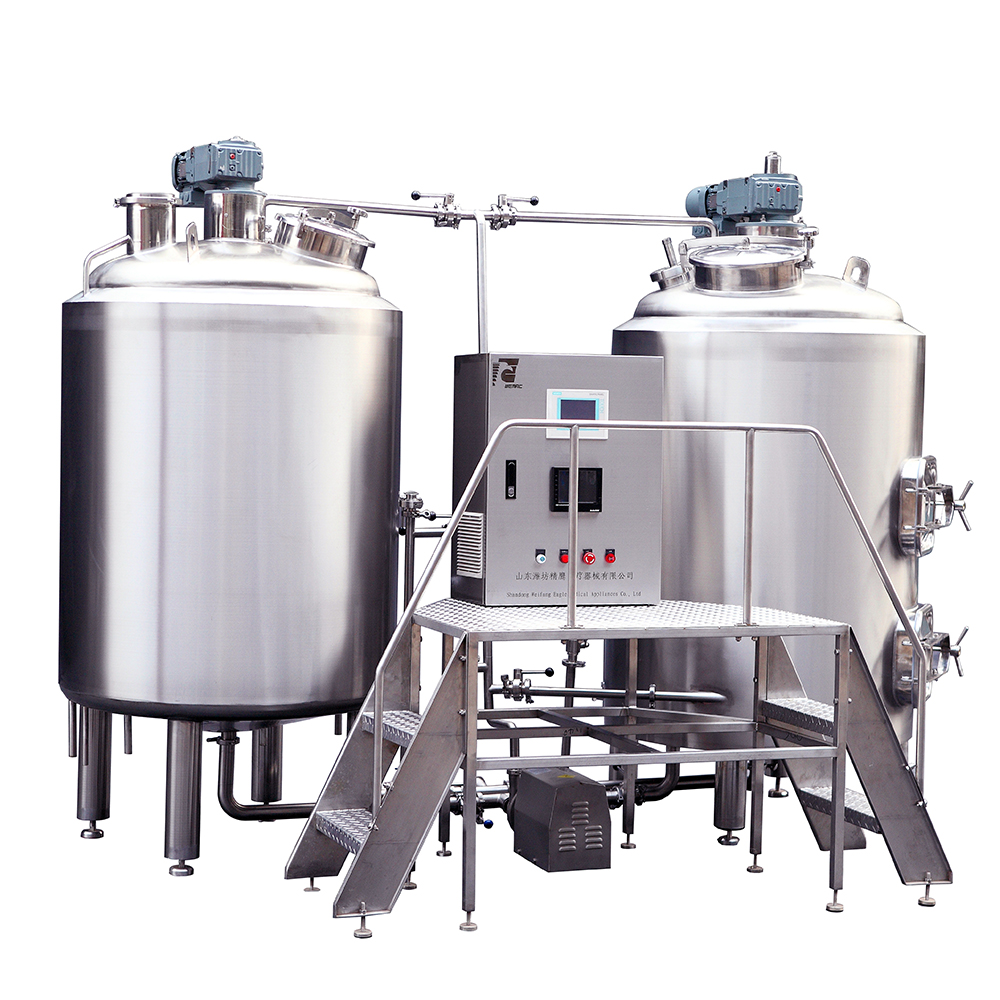 100L 300L 500L Electric Beer plant Turnkey Brewing Systems hot sale in Germany ZXF