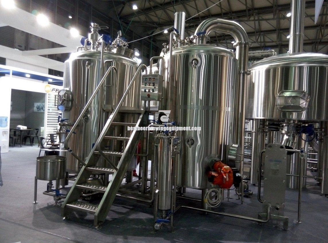 WEMAC 35BBL Commercial Beer Brewing System for sale