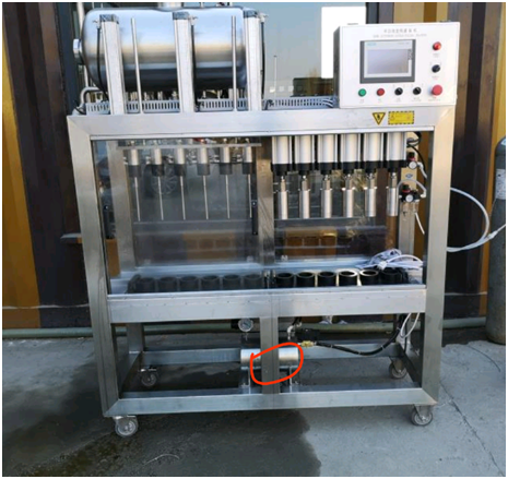 Canada  automatic manual  bottling and capping machine of SUS304 316 from China factory supplier W1