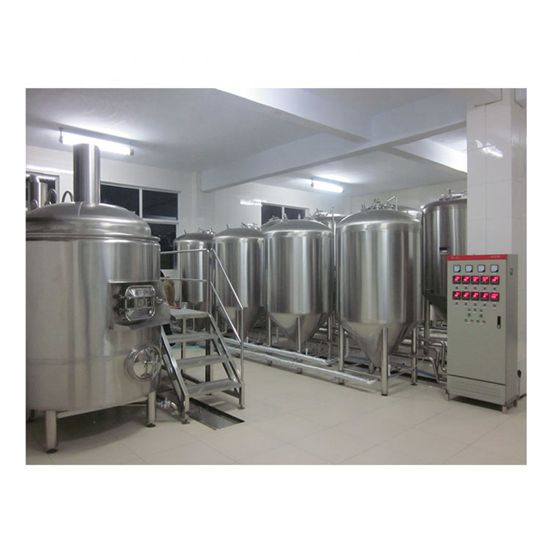 6BBL Professional 2 vessels beer making brewhouse and mash system from Chinese factory ZZ