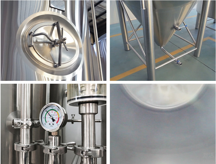 3BBL High quality SUS304 craft beer conical fermenter for sale  from China  WEMAC
