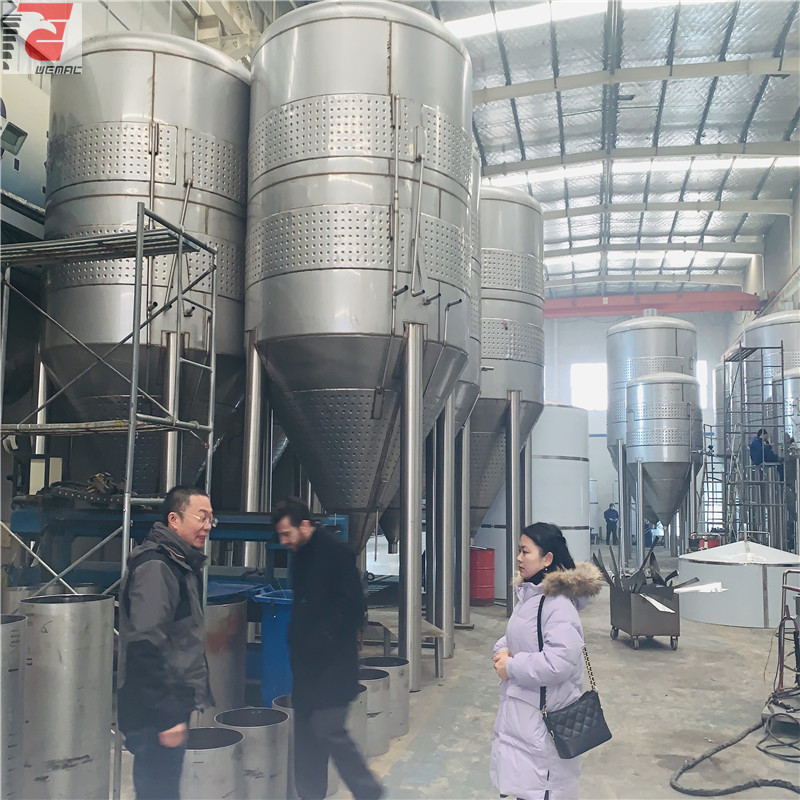China professional beer brewing machine price