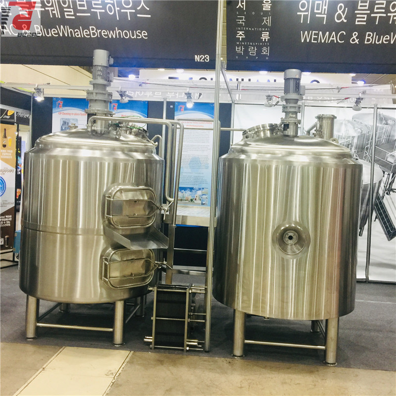 Complete 1000l beer brewing equipment and 10HL brewery system supplier