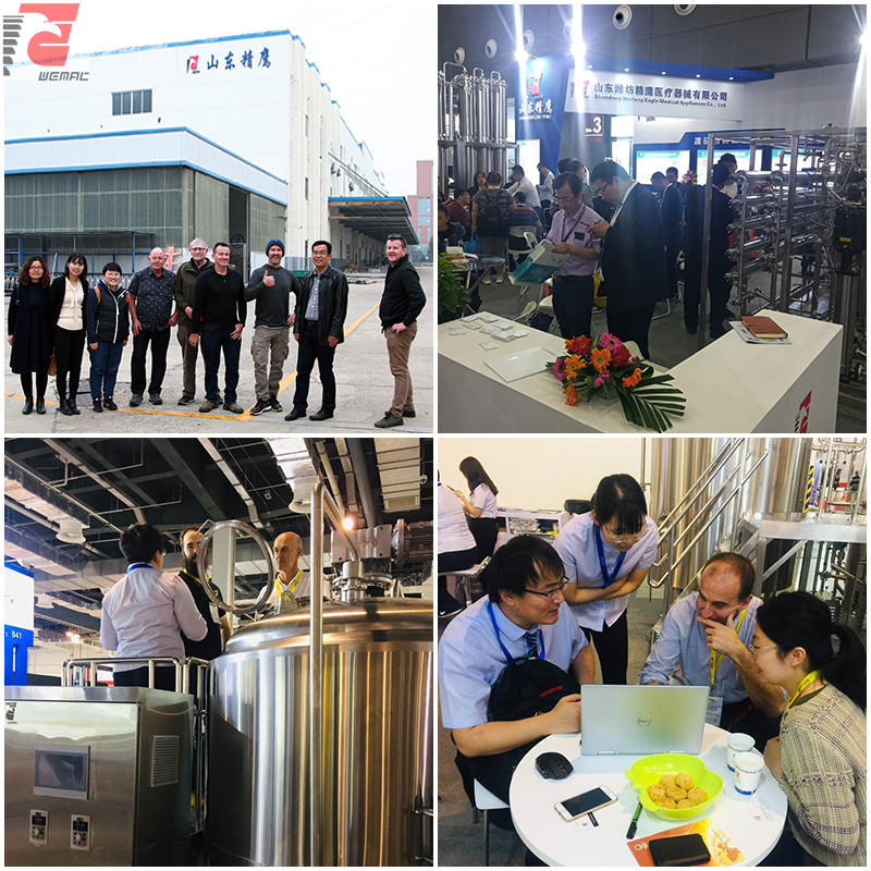 Brewery tanks and beer brewing vessels for sale Chinese manufacturer