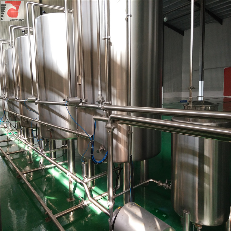 China supplier complete industrial beer brewery equipment of stainless steel to Colombia  2020 W1