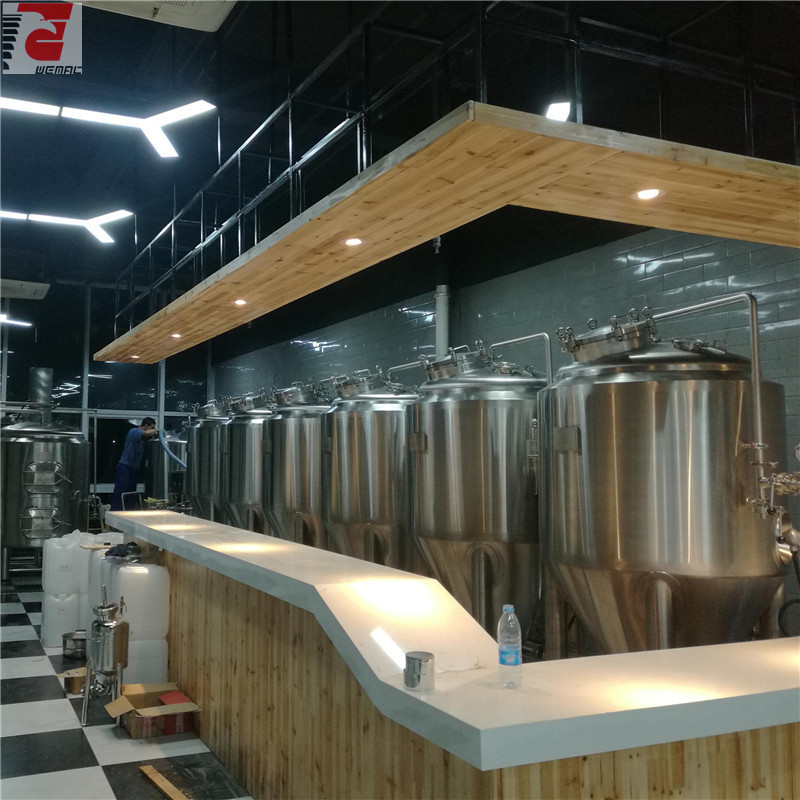 Commercial beer brewing equipment Chinese manufacturer