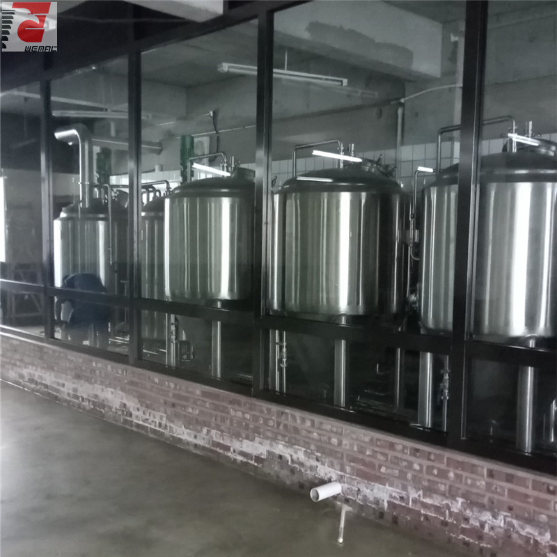 China commercial beer brewing kettles manufacturer