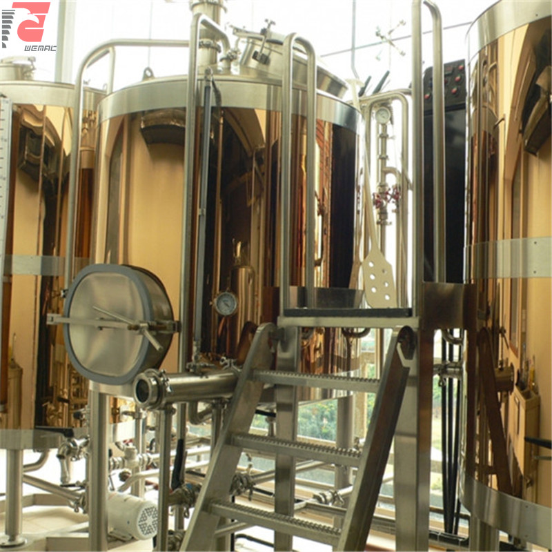 Commercial brewery setup and beer brewing equipment for sale