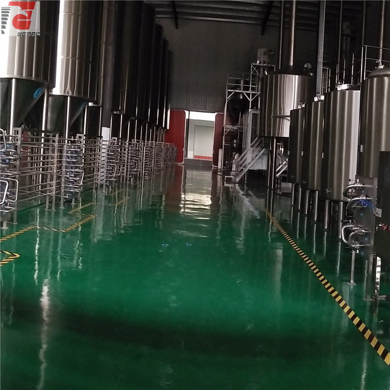 China commercial brewery system supplies and equipment manufacturer