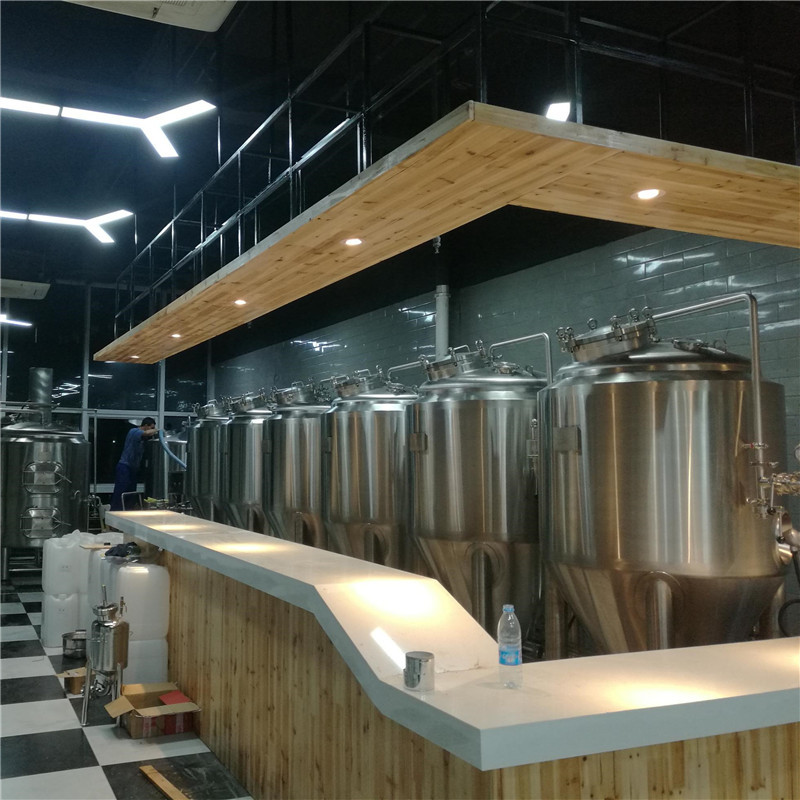 Commercial brewery setup and commercial beer brewing equipment for sale