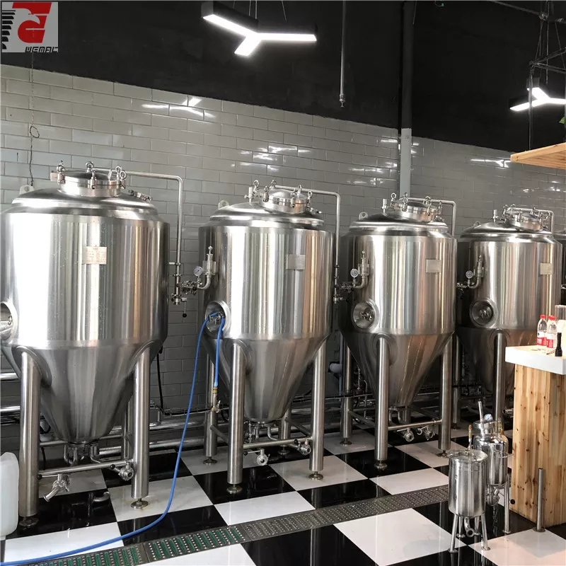 Australia high quality automatic / manual microbrewery equipment of sus304 316 from China factory supplier W1