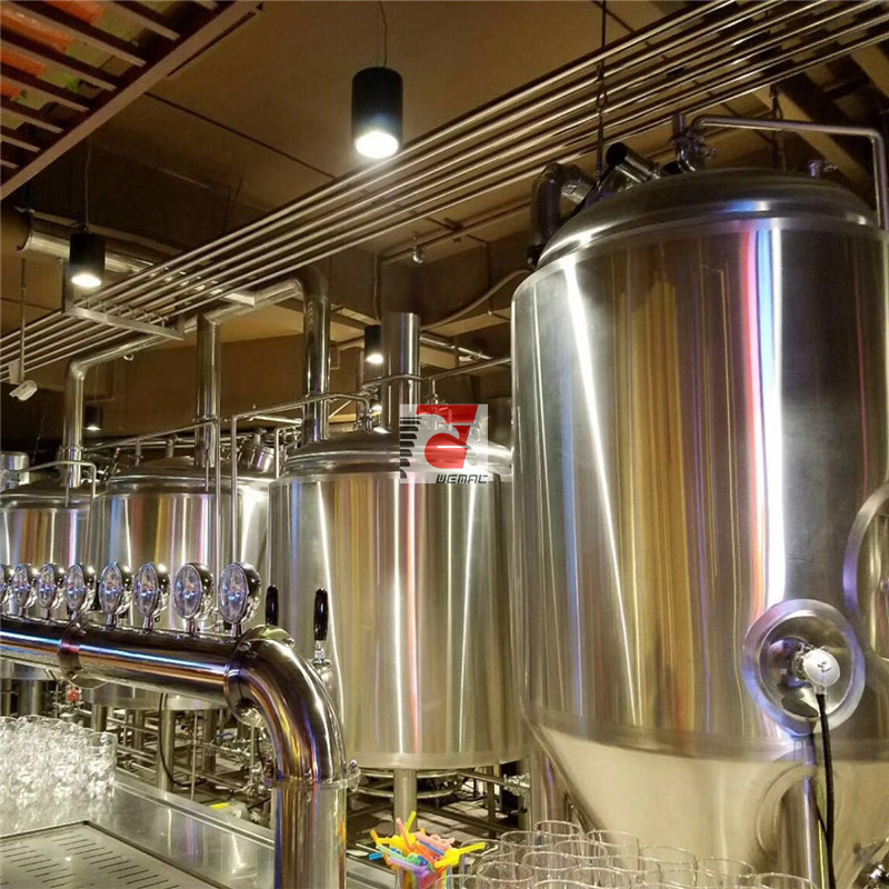 Craft beer brewing equipment Chinese manufacturer