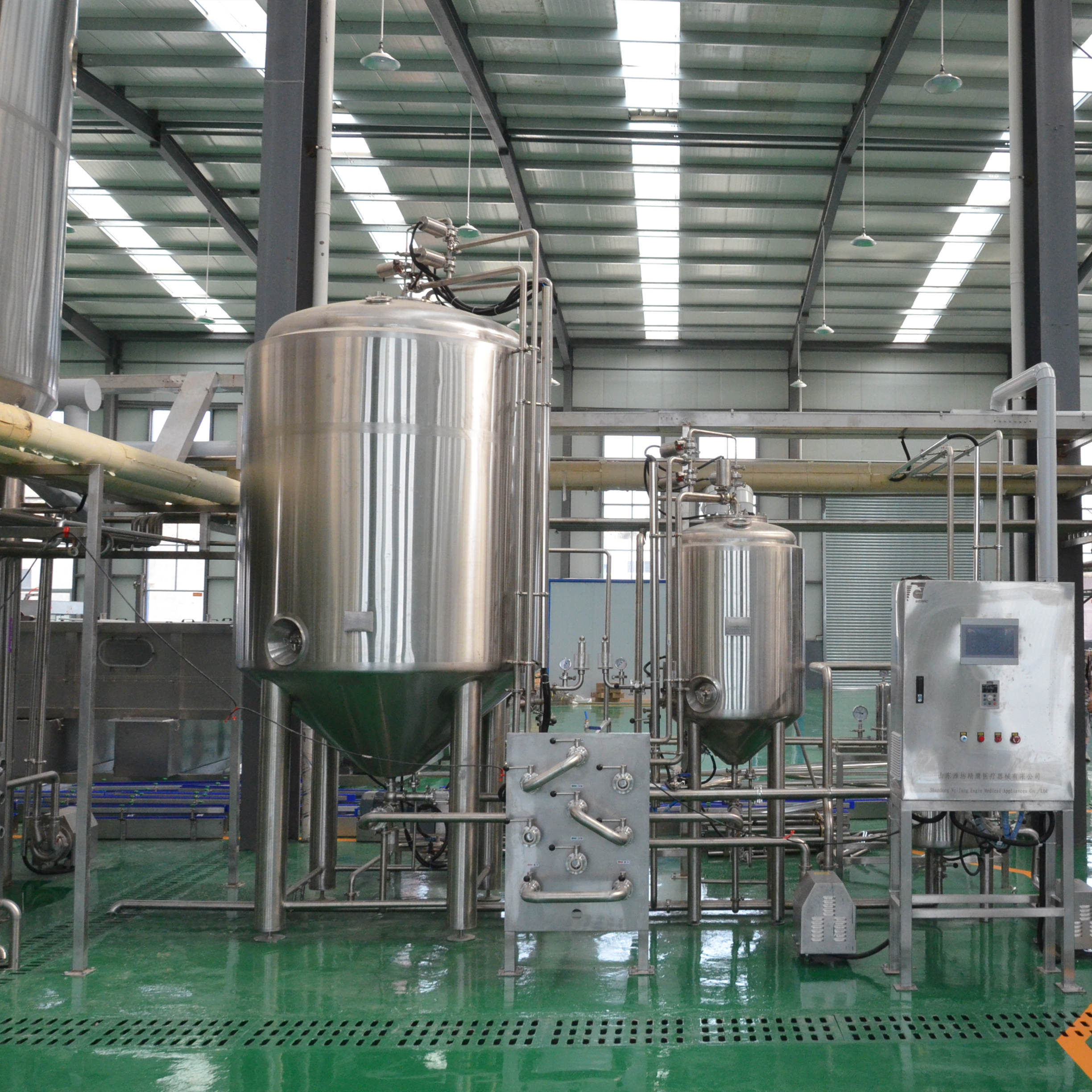 Stainless steel big size commercial industrial beer making equipment from Chinese factory hot sell in Australia Z13