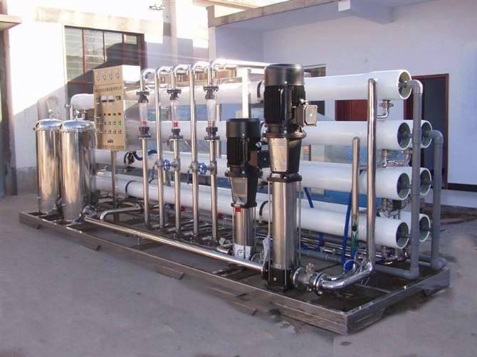 Sweden efficient double reverse osmosis permeable filtration system of stainless steel from China factory 2020 W1