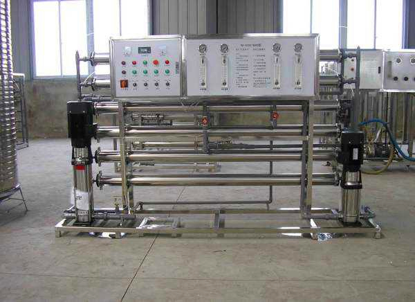 Venezuela high quality double reverse osmosis permeable filtration system of stainless steel    China factory 2020 W1