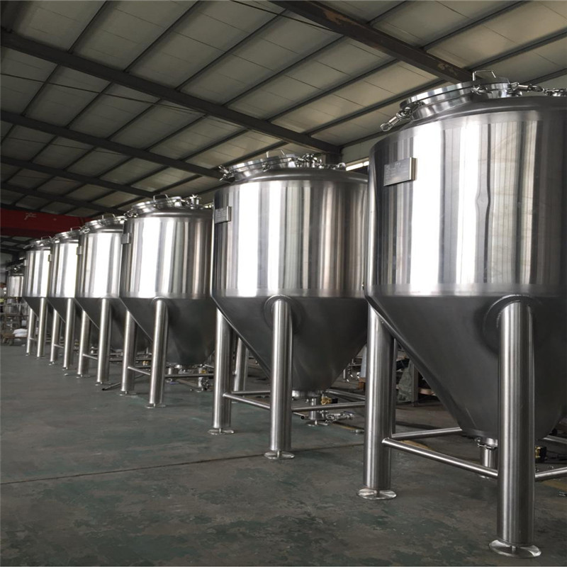 Beer brewing tanks stainless steel conical fermenter WEMAC Y004