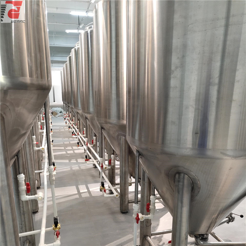 China jacketed fermenter and brewing vessel for sale professional manufacturer