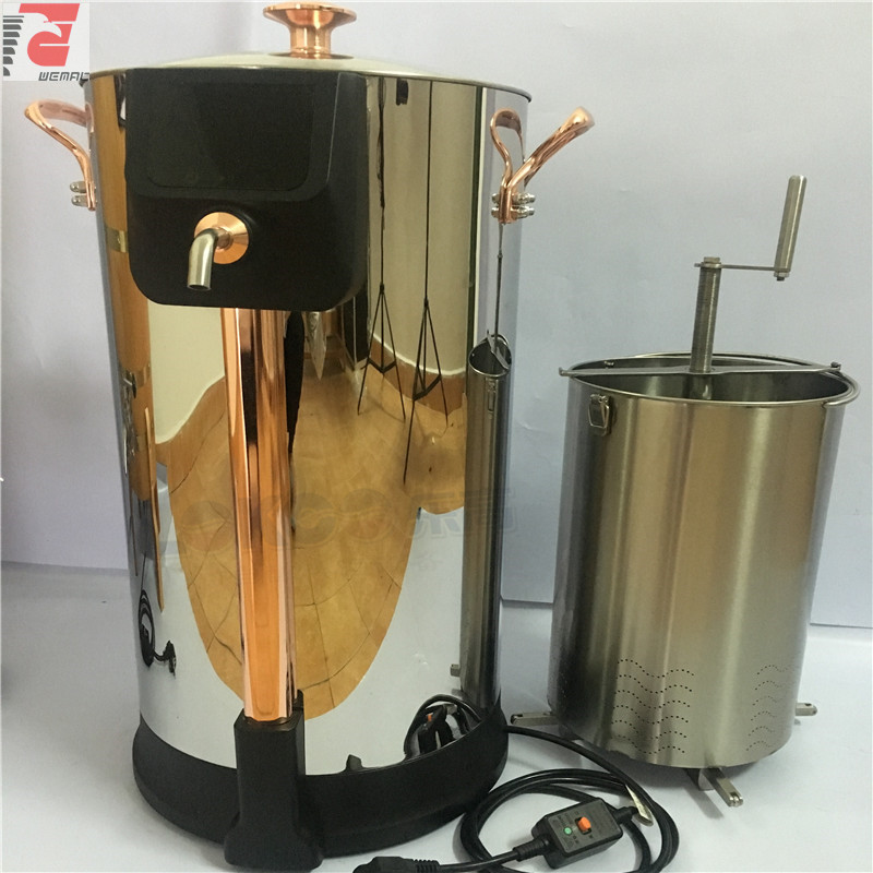 Chinese professional home craft beer brewing equipment and systems