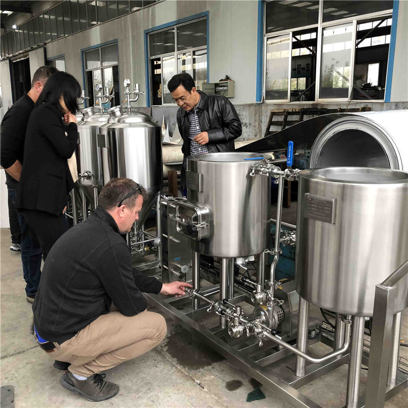 Poland  automatic / manual  easy to operate high quality home brewing equipment of SUS304 316 from China factory W1