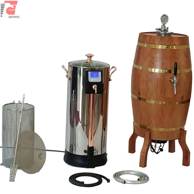 China 30l and 50l professional home microbrewery brewing equipment supplier