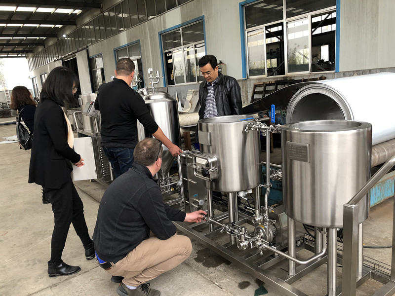 Microbrewery beer brewing equipment for home Australian customers