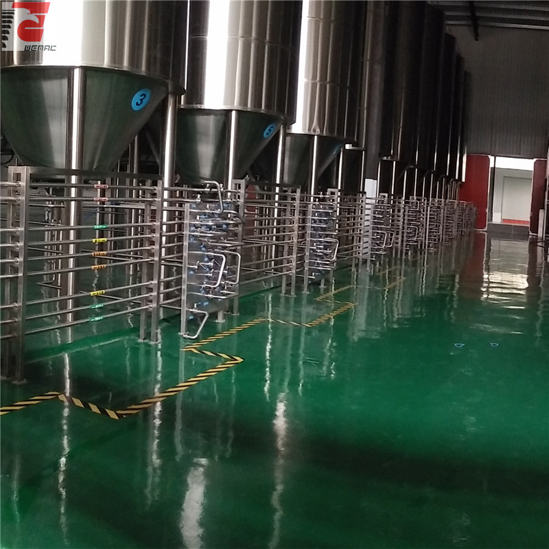large scale beer brewing equipment Chinese supplier