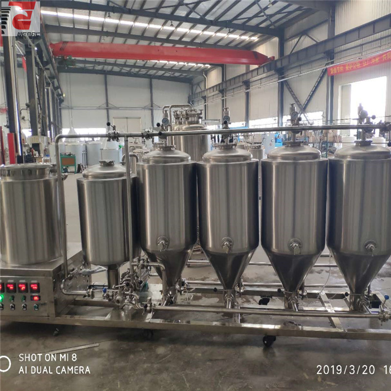 USA  automatic manual  convenient microbrewry equipment of sus304 316 from China manufactures W1