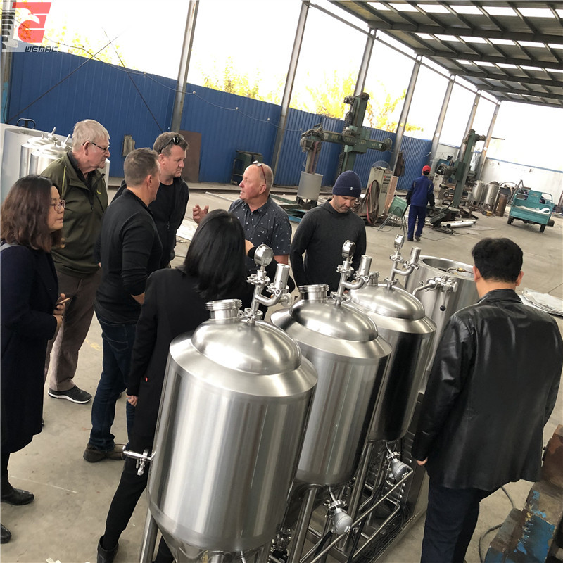 China micro brewing systems and small beer brewing systems factory