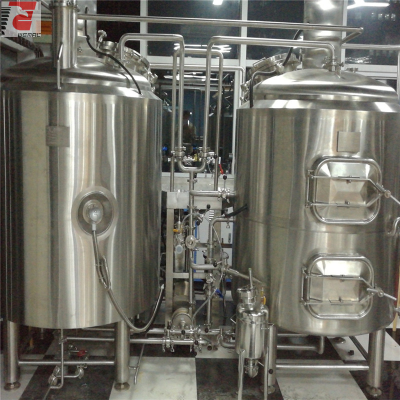 Poland 500L automatic / manual  high quality microbrewery of SUS304 316 from China factory W1