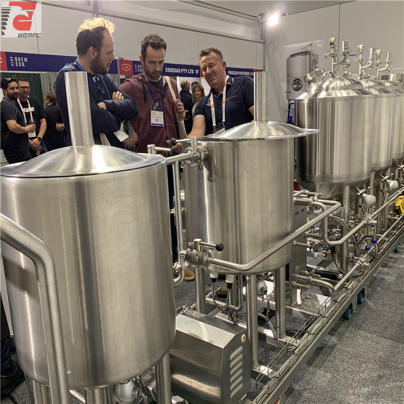 Small scale brewing systems and microbrewery plant cost