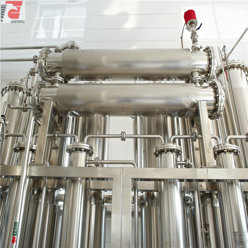 China multi column distilled water plant manufacturer