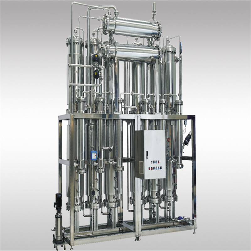 High efficiency and energy saving 500L/H 6 columns multi effect water distiller WEMAC S003